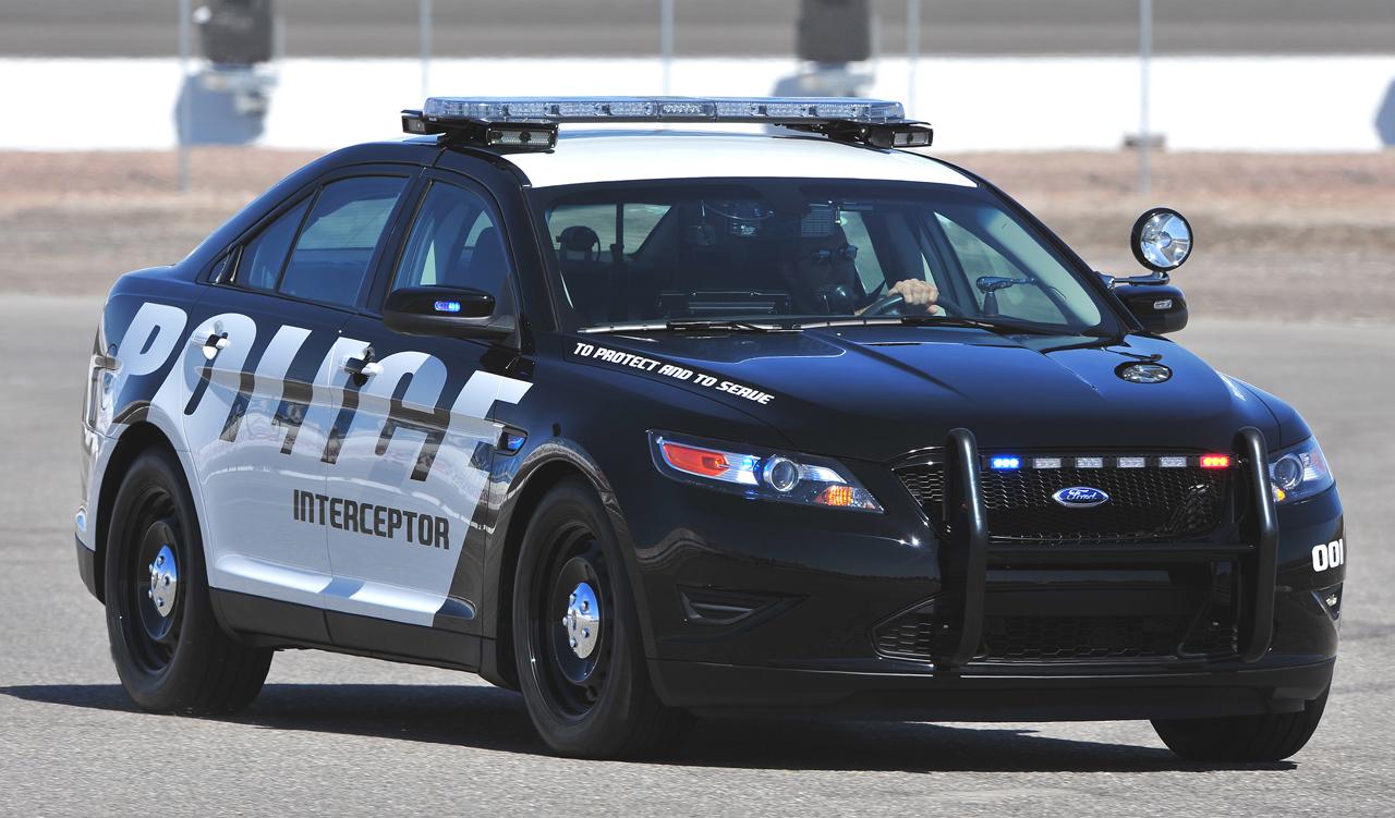 Ford Police Interceptor Taurus Le Nouveau V 233 Hicule De La