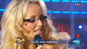 adriana karembeu danse avec stars atoll pub lunette