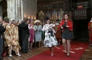 mariage parodie kate middleton prince william harry angleterre