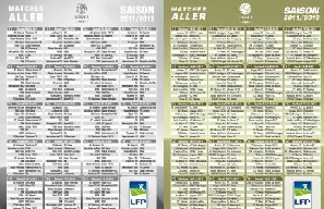 Calendrier rencontres football