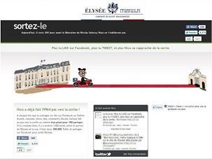 pirate site internet elysée sarkozy sortez