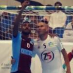 Selfie en plein match de football … avec Zidane !