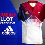 Maillot 2016 du XV de France