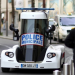 Une voiture futuriste pour la police de Pau