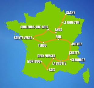 Le Tour de Montcuq passe par Anus et Chatte !