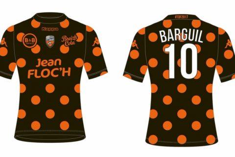 Un maillot à pois unique à Lorient
