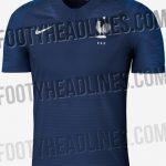 Les Maillots 2018 de l'Equipe de France de Football