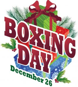 boxing day jour promotion angleterre