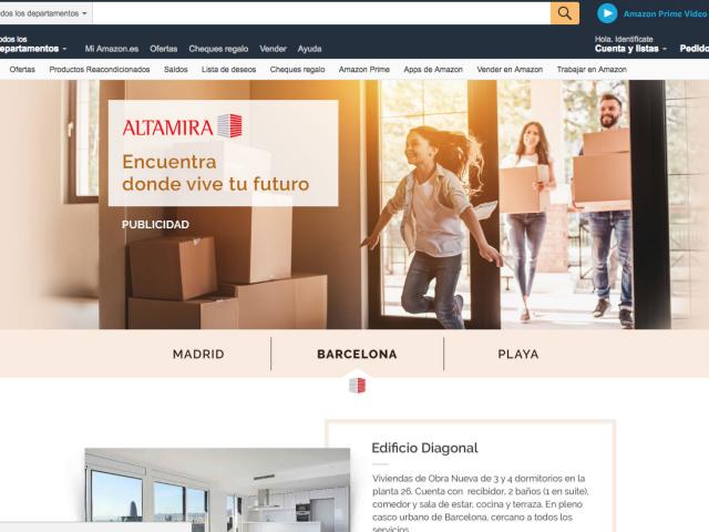 Amazon se met à l'immobilier ?