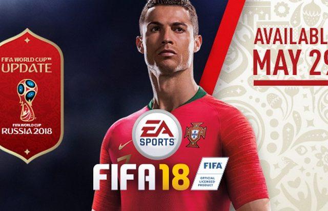 FIFA 18 Spécial Coupe du Monde en Russie, gratuit !